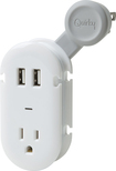 Quirky - Contort Power USB and AC Power Supply - White