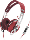 Sennheiser - MOMENTUM On-Ear Headphones - Red