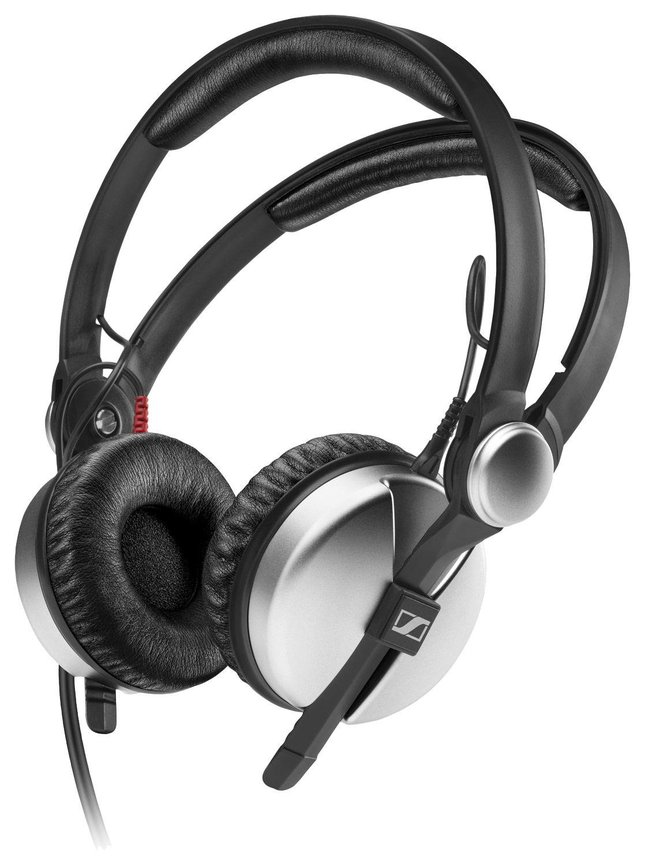 Sennheiser - HD 25 ALUMINUM DJ Headphones - Silver