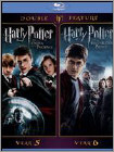 Harry Potter And The Order Of The Phoenix/harry Potter And The Half-blood Prince [2 Discs] [blu- (blu-ray Disc) 1336746