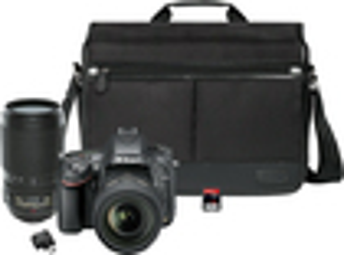 Nikon - D610 DSLR Camera with 24-85mm VR and 70-300mm VR Lens Kit - Black