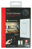 GE - ZigBee In-Wall Smart Dimmer Switch - White
