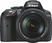 Nikon - D5300 Digital SLR Camera with 18–140mm VR Lens - Black