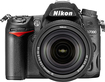 Nikon - D7000 DSLR Camera with 18-140mm VR Lens - Black