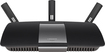 Linksys - SMART Wi-Fi Dual-Band Wireless-AC Router with 4-Port Ethernet Switch - Black
