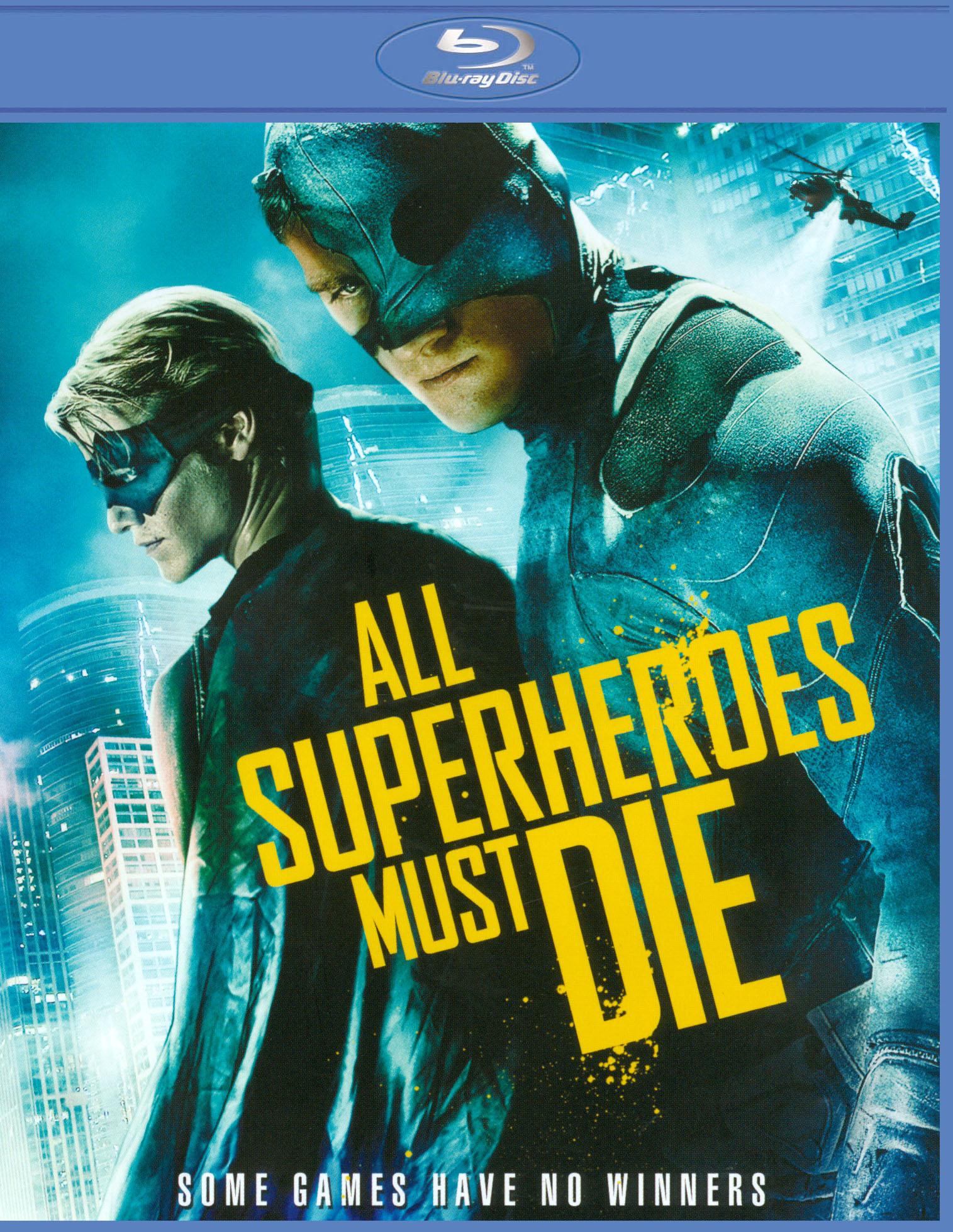 All Superheroes Must Die [blu-ray] 20799164