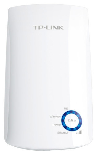 TP-Link - Wireless N300 Wi-Fi Range Extender with Ethernet Port - White