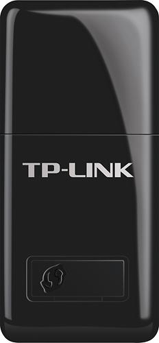 TP-Link - Mini Wireless N USB Adapter - Black