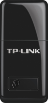 TP-Link - Mini Wireless-N USB Adapter - Black