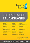 Rosetta Stone TOTALe Online (1-Year Subscription) - Mac/Windows