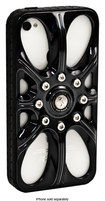 Sumdex - Full-Speed Wheel Case for Apple® iPhone® 4 and 4S - Shiny Black