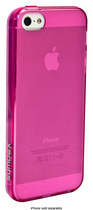 Sumdex - Color Shades Frost Case for Apple® iPhone® 5 and 5s - Fuchsia