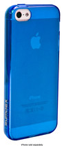 Sumdex - Color Shades Frost Case for Apple® iPhone® 5 and 5s - Cobalt Blue