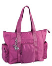 """Sumdex - Soft Casual Utility Tote for Most Tablets Up to 10.2"""" - Magenta Haze"""