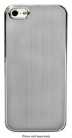 Sumdex - Color Shades Metallic Case for Apple® iPhone® 5 and 5s - Silver