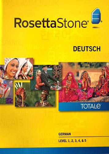 Rosetta Stone Version 4 TOTALe: German Levels 1 - 5 - Mac|Windows