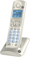 GE - DECT 6.0 Cordless Expansion Handset for Select GE Expandable Phone Systems - Silver