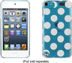 Griffin Technology - Dots All Folks Hard Shell Case for Apple® iPod® touch 5th Generation - White