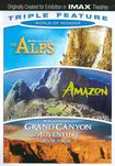World Of Wonder Triple Feature: The Alps/amazon/grand Canyon Adventure: River At Risk [3 Discs] (dvd) 20926195