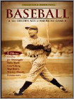 Baseball: The Golden Age Of America'S Game (4 Disc) (DVD)