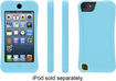 Griffin Technology - Survivor Slim Case for Apple® iPod® touch 5th Generation - Turquoise/Lemon