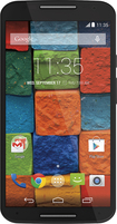 Motorola - Moto X (2nd Generation) 4G Cell Phone (Unlocked) - Black