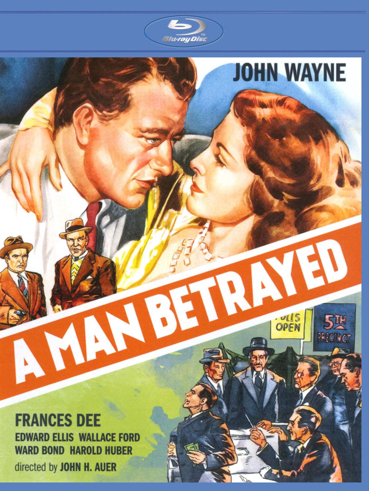 A Man Betrayed [blu-ray] 20950604