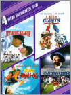 Kids Sports Collection: 4 Film Favorites [2 Discs] (DVD) (Enhanced Widescreen for 16x9 TV) (Eng/Fre/Spa)