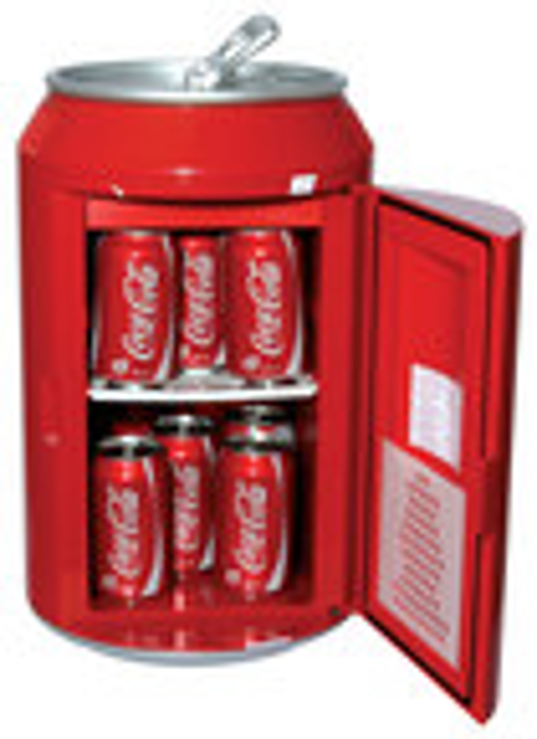 Koolatron - Coca Cola Can Fridge Cooler/Warmer - Red