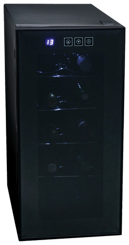 Koolatron - 10-Bottle Wine Cooler - Black