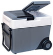 Koolatron - Kargo Wheeler 33-Quart 12V Cooler/Warmer - Blue/White