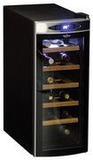 Koolatron - 12-Bottle Wine Chiller - Black