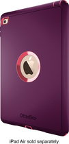 OtterBox - Defender Series Case for Apple® iPad® Air 2 - Purple/Pink