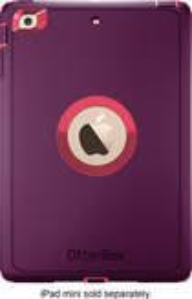 OtterBox - Defender Series Case for Apple® iPad® mini - Pink