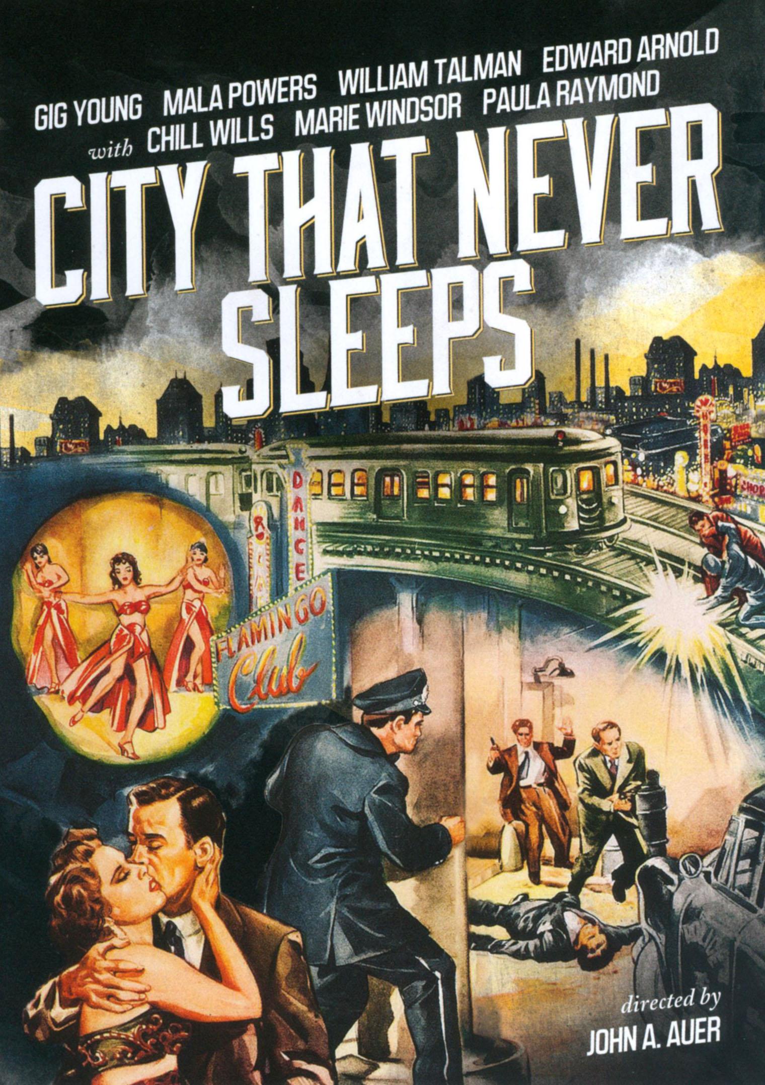 City That Never Sleeps (dvd) 21040533