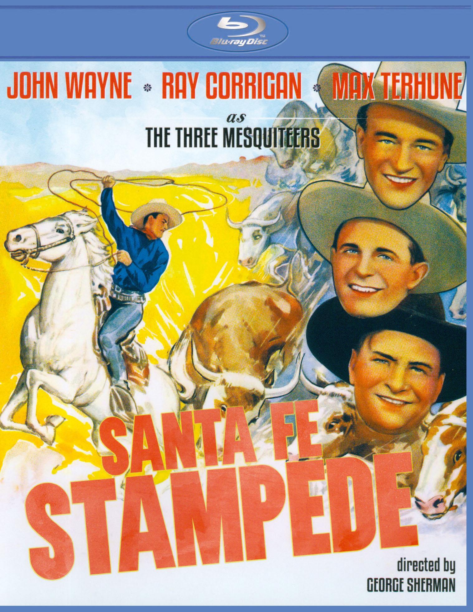 Santa Fe Stampede [blu-ray] 21040579