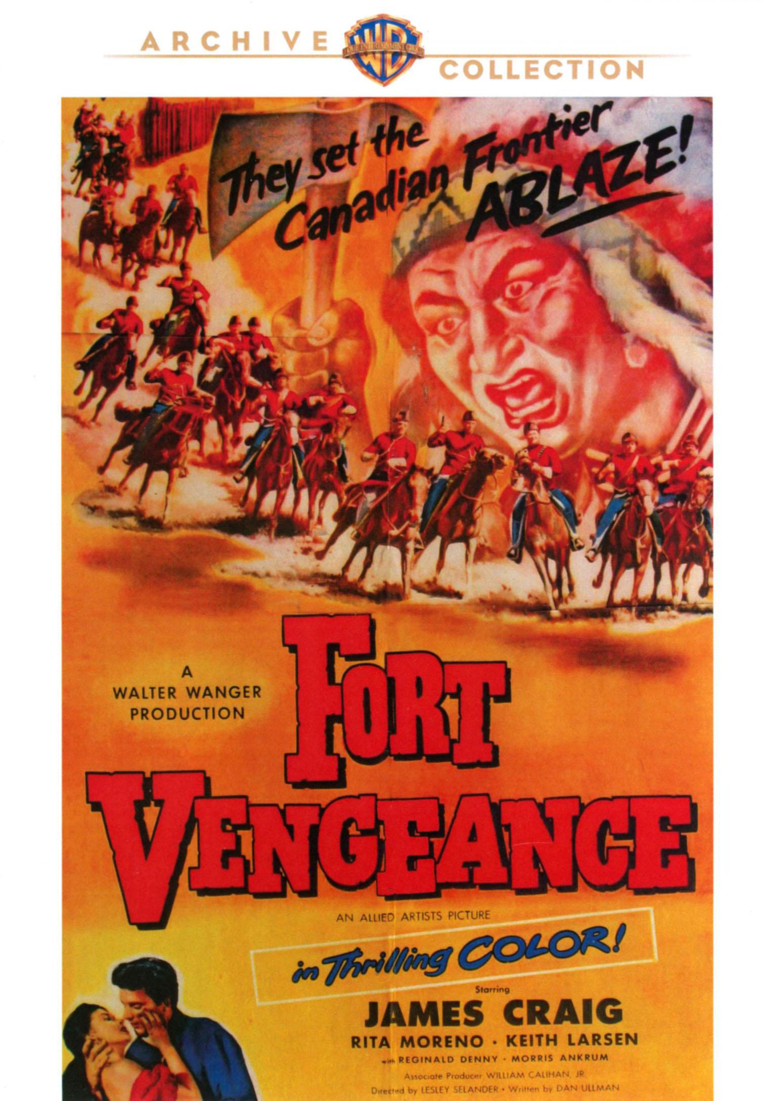 Fort Vengeance (dvd) 21044211