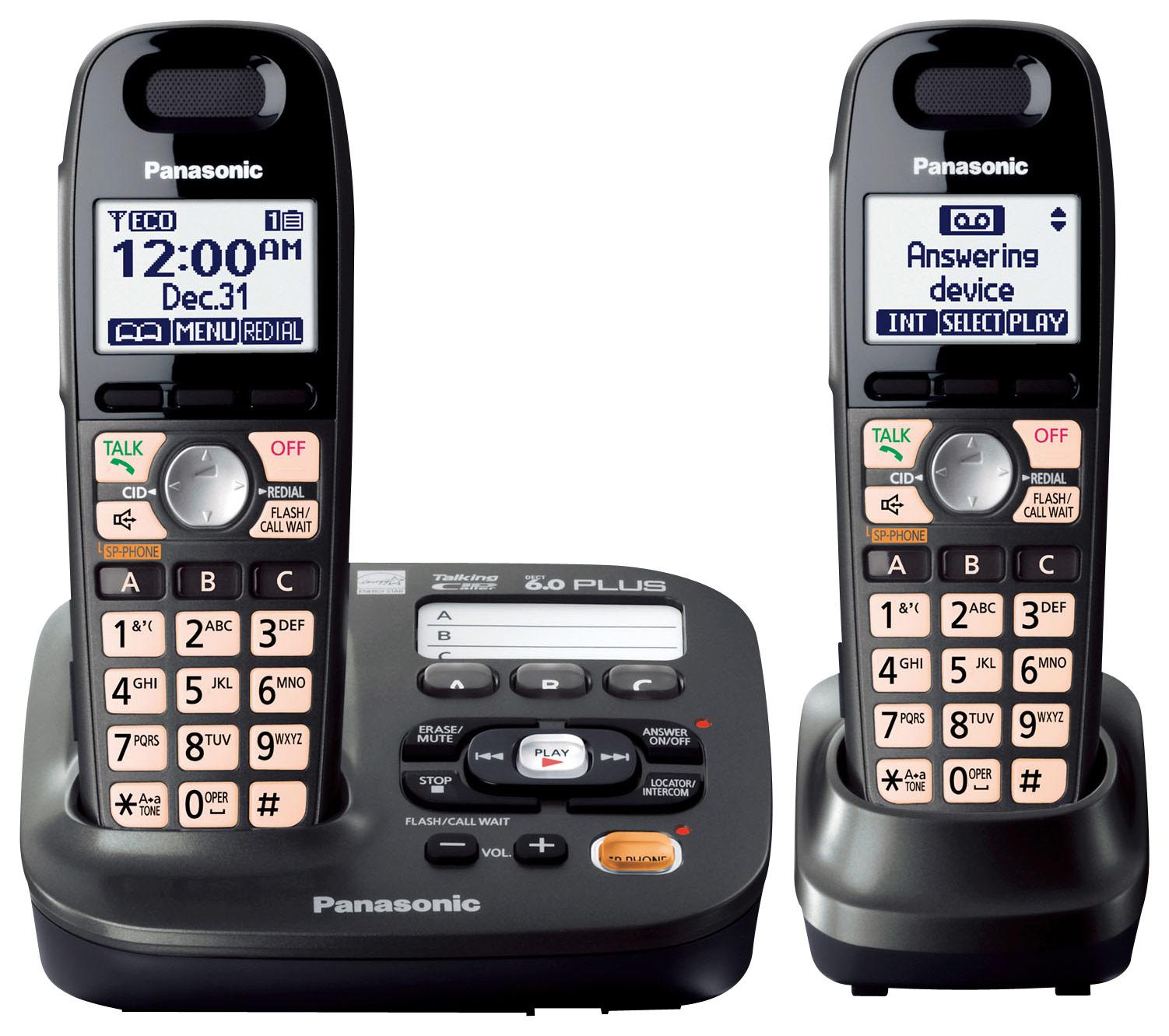Click here for Panasonic - Kx-tg6592t Dect 6.0 Plus Expandable Co... prices