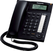 Panasonic - Corded Phone with Call-Waiting Caller ID - Black