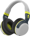 Skullcandy - Hesh 2 Wireless Bluetooth Over-the-Ear Headphones - Gray/Lime
