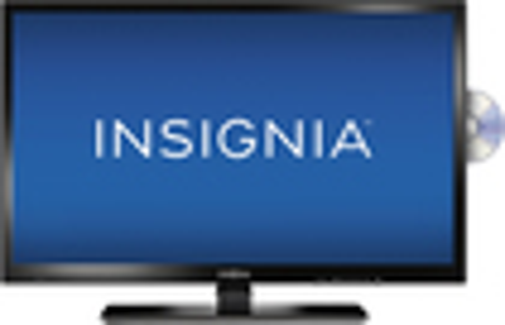 "Insignia™ - 28"" Class (27-1/2"" Diag.) - LED - 720p - HDTV DVD Combo - Black"