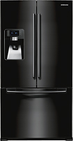 Samsung - Clearance 29 Cu. Ft. French Door Refrigerator With Thru-the-door Ice And Water - Black