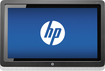 "HP - Pavilion 23"" LED HD Touch-Screen Monitor - Black"