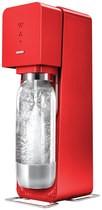 SodaStream - Metal Source Soda Maker - Red