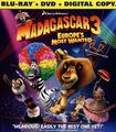 Madagascar 3: Europe's Most Wanted [2 Discs] [includes Digital Copy] [ultraviolet] [blu-ray] 21395275