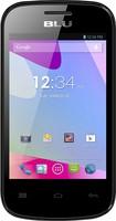 Blu - Dash Jr D140 Cell Phone (Unlocked) - Black
