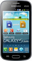 Samsung - Galaxy S Duos S7562 Cell Phone (Unlocked) - Black
