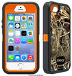 OtterBox - Defender Realtree Series Hybrid Case and Holster for Apple® iPhone® 5 and 5s - Max 4HD/Blaze