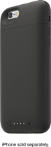 mophie - Juice Pack Plus External Battery Case for Apple® iPhone® 6 - Black