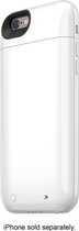 mophie - Juice Pack Air External Battery Case for Apple® iPhone® 6 - White